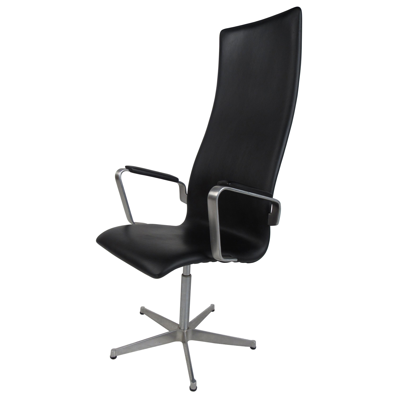 Mid-Century Modern Fritz Hansen Swivel Office Chair