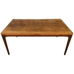 Mid-Century Modern Funder-Schmidt & Madsen Danish Teak Expandable Dining Table