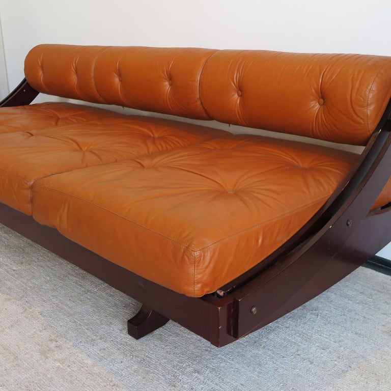Mid Century Modern G. Songia Daybed Sofa, Italy, circa ...