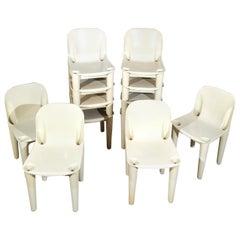 Mid-Century Modern Garden Chairs by Casa 70 Dalvera in Plastic, Italy, 1970s