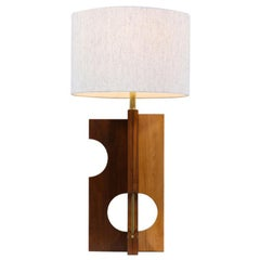 Mid-Century Modern Geometric Form Table Lamp