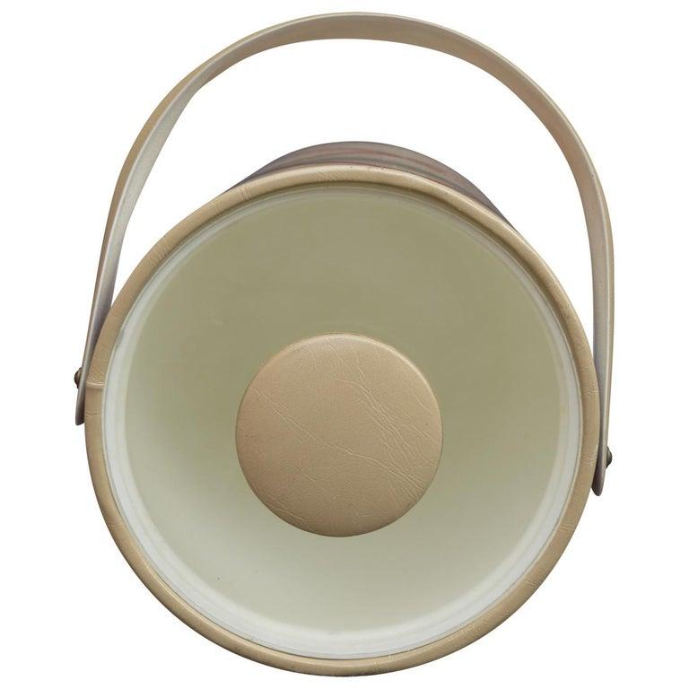 American Mid-Century Modern George Briard Ice Bucket For Sale