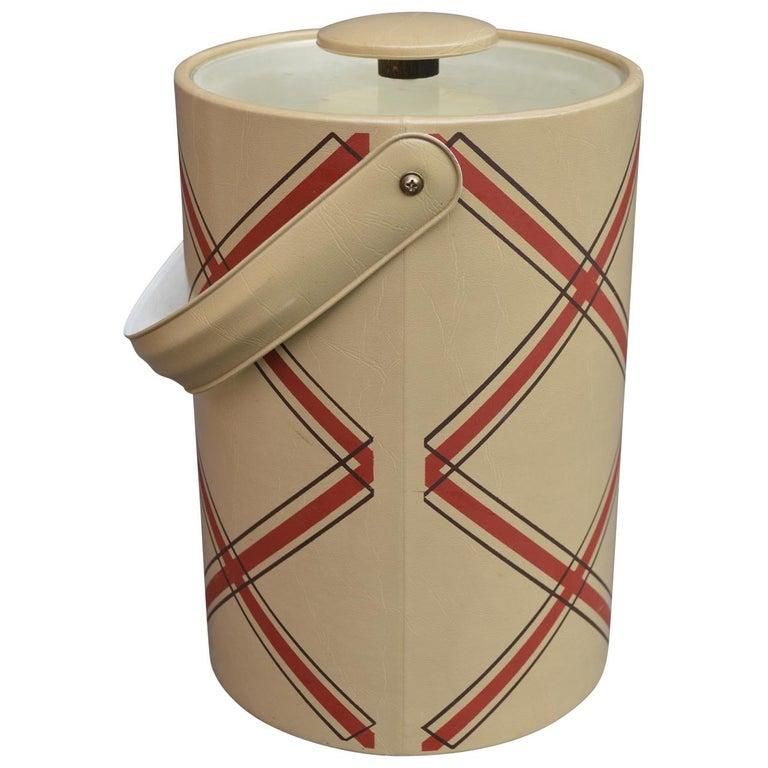 Molded Mid-Century Modern George Briard Ice Bucket For Sale