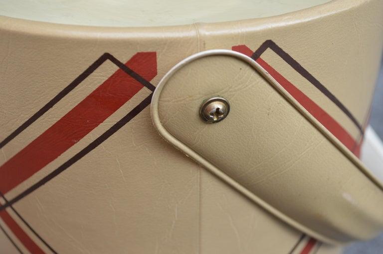Plastic Mid-Century Modern George Briard Ice Bucket For Sale