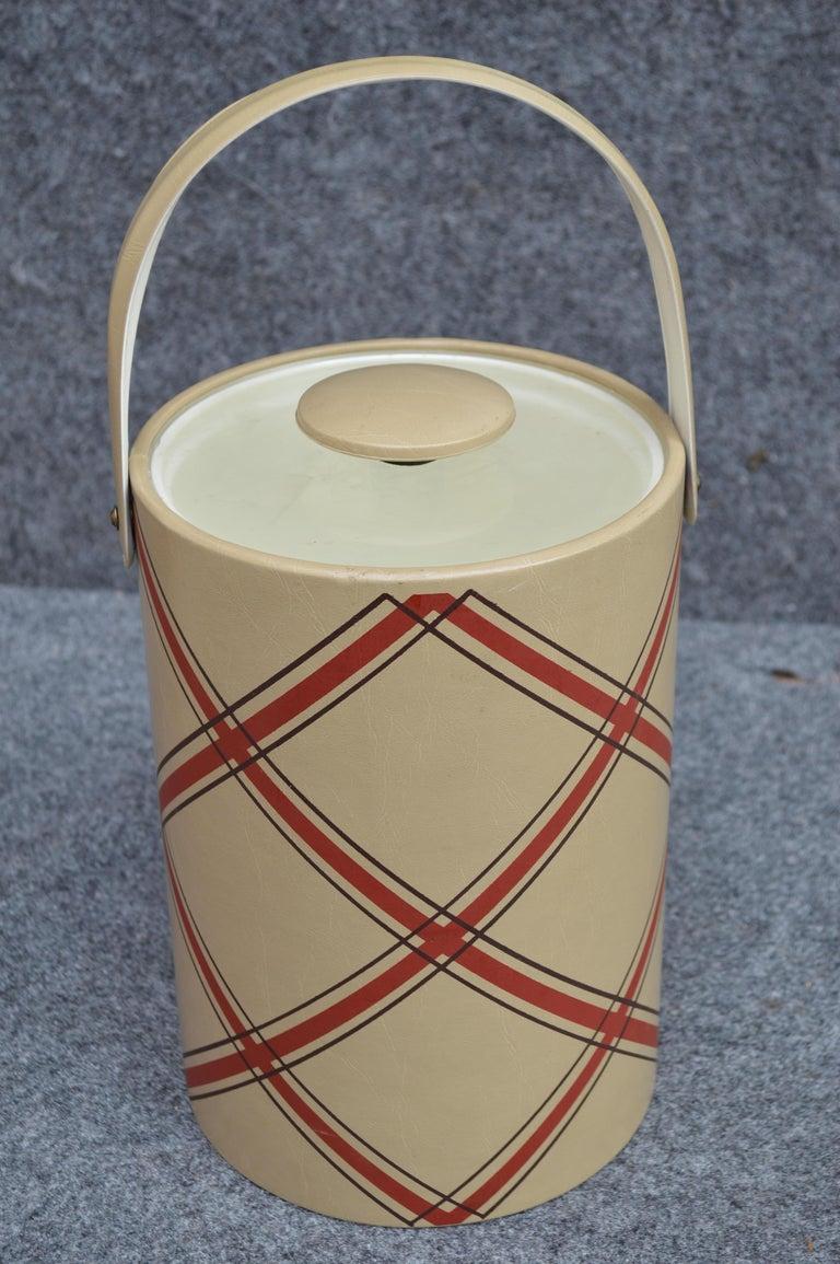 Mid-Century Modern George Briard Ice Bucket For Sale 2