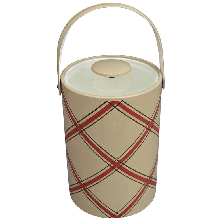 Mid-Century Modern George Briard Ice Bucket For Sale
