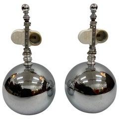 Mid-Century Modern George Kovacs Ball Table Lamps