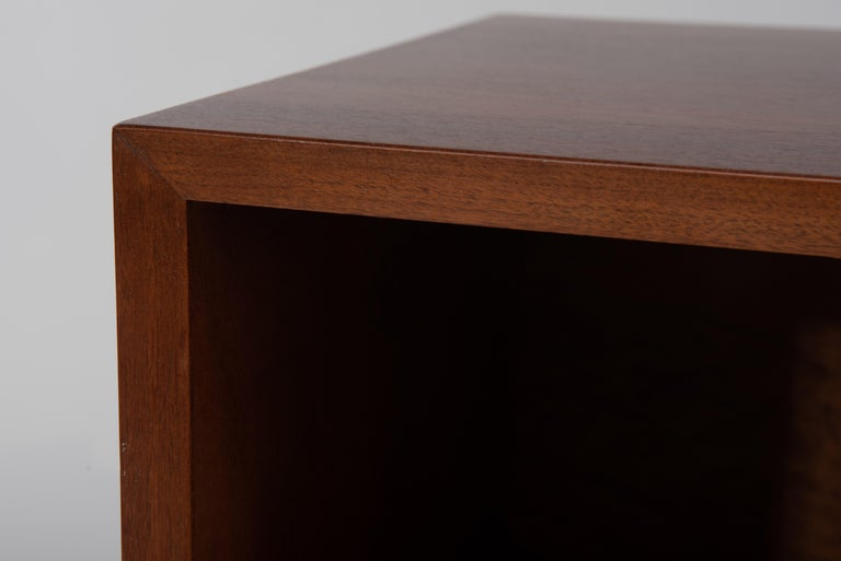 Oak Mid-Century Modern George Nelson for Herman Miller Cabinet on Slat Bench For Sale