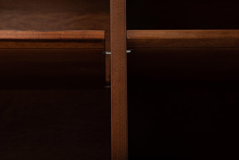 Mid-Century Modern George Nelson for Herman Miller Cabinet on Slat Bench For Sale 1