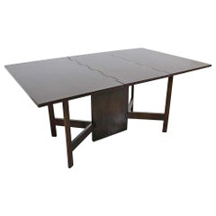 Mid-Century Modern George Nelson for Herman Miller Drop-Leaf Dining Table