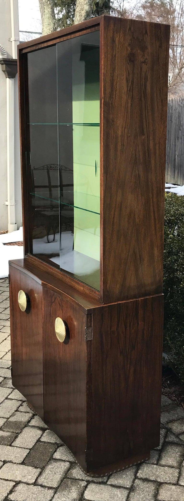 Mid-Century Modern Gilbert Rohde Paldao Bar Cabinet for ...