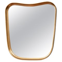 Mid-Century Modern Giltwood Wall Mirror