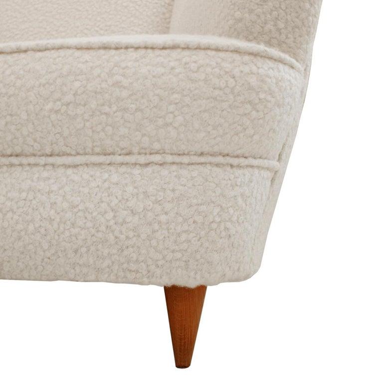 Mid-Century Modern Gio Ponti Pair of Italian Armchairs for Casa e Giardino For Sale 5
