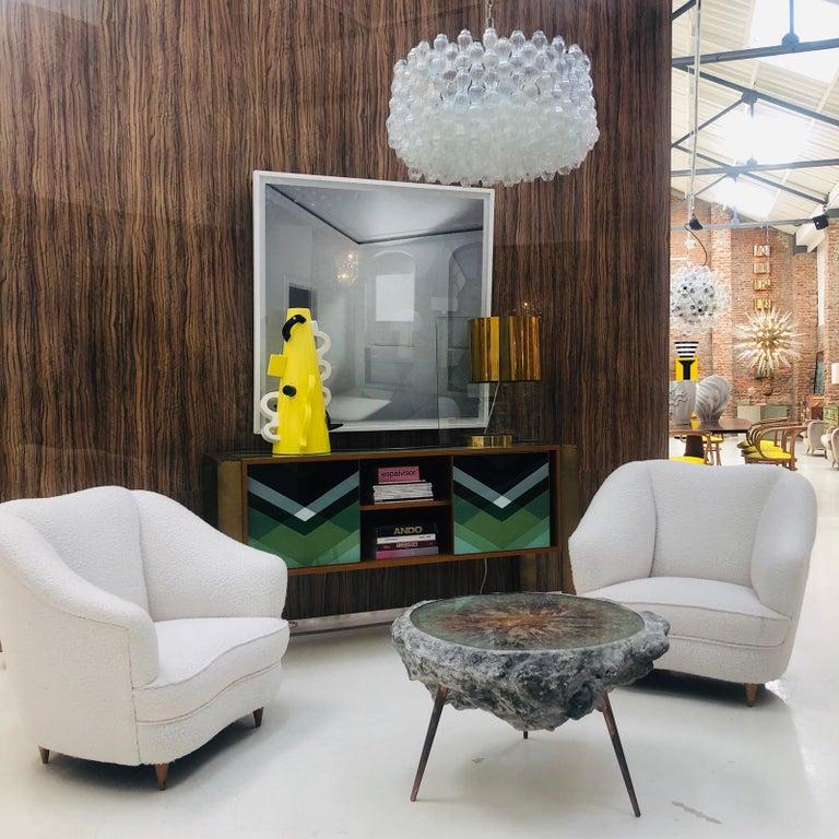 Mid-Century Modern Gio Ponti Pair of Italian Armchairs for Casa e Giardino For Sale 7