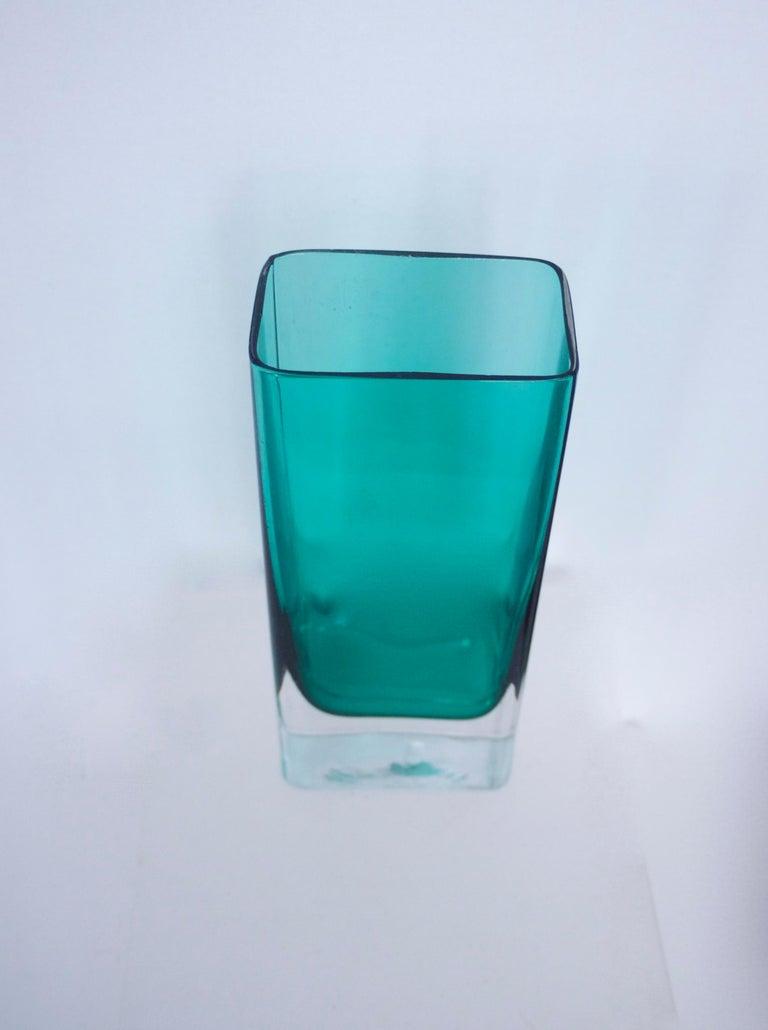 Mid-Century Modern Glass Collection Mdina Bottle Nuutajarvi Notsjo Vases, 1960 For Sale 1