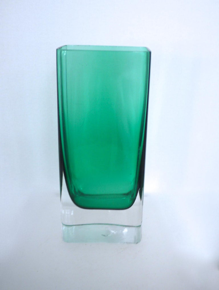 Mid-Century Modern Glass Collection Mdina Bottle Nuutajarvi Notsjo Vases, 1960 For Sale 2