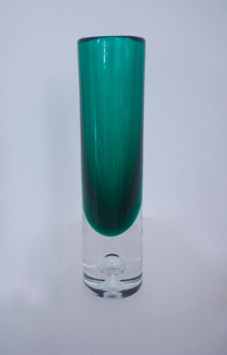 Mid-Century Modern Glass Collection Mdina Bottle Nuutajarvi Notsjo Vases, 1960 For Sale 3