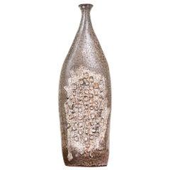 Mid-Century Modern Glazed Ceramic Vase