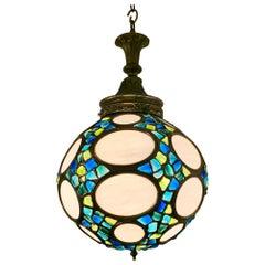 Mid-Century Modern Globe Hanging Light