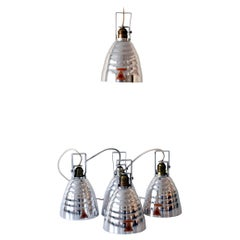 Mid-Century Modern Glossy Ceiling Spot Lights or Pendant Lamps, 1960s, Germany