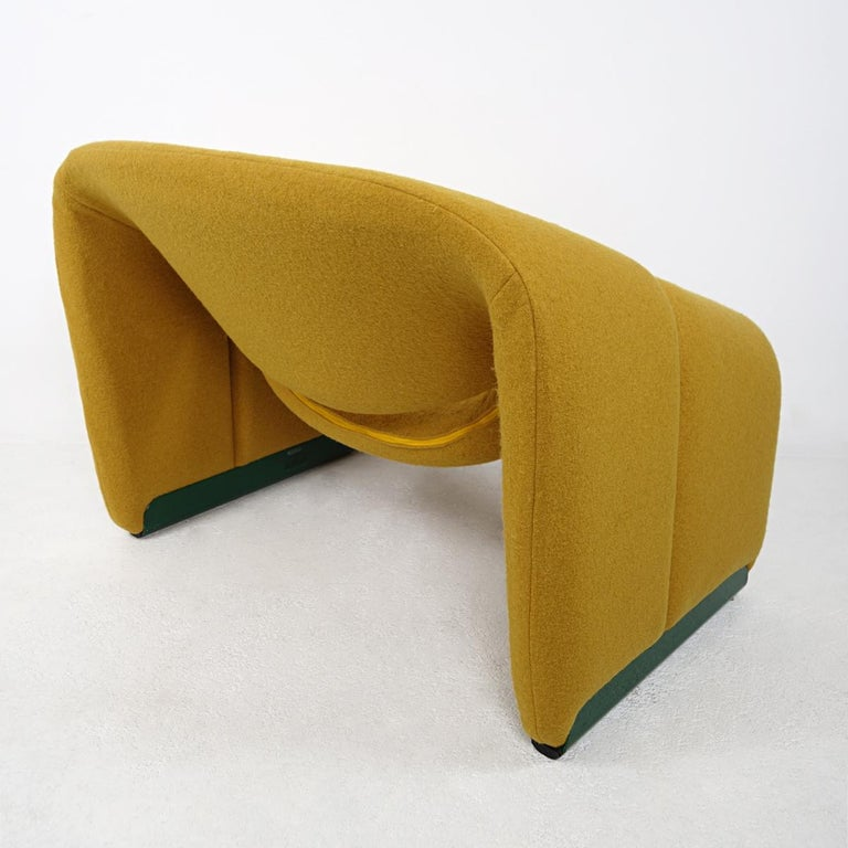 Fabric Mid-Century Modern Groovy Chair F598 by Pierre Paulin for Artifort