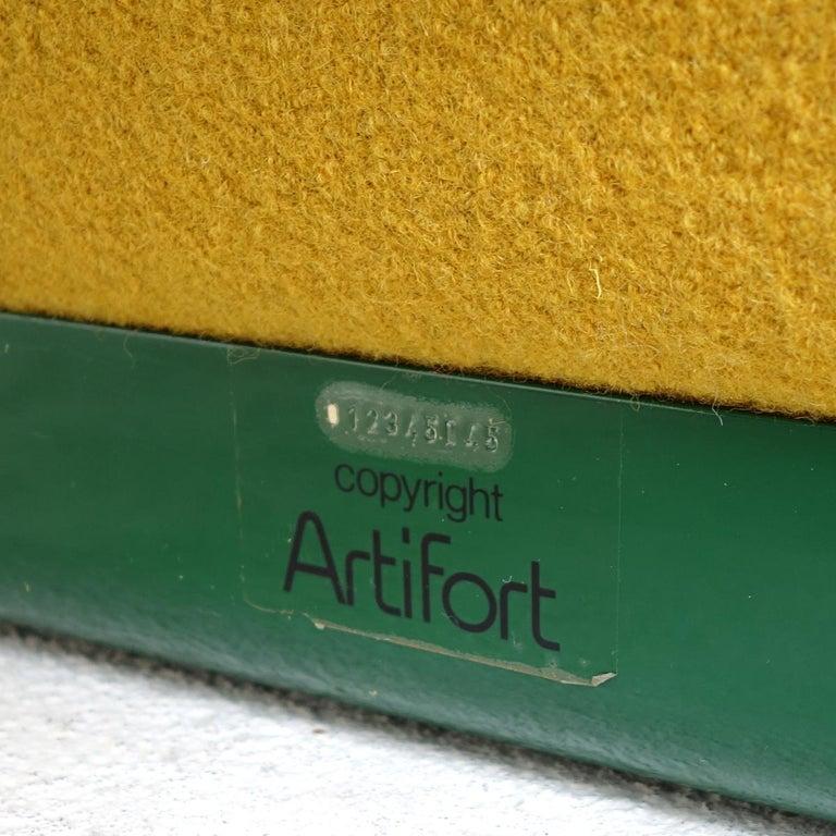 Mid-Century Modern Groovy Chair F598 by Pierre Paulin for Artifort 3