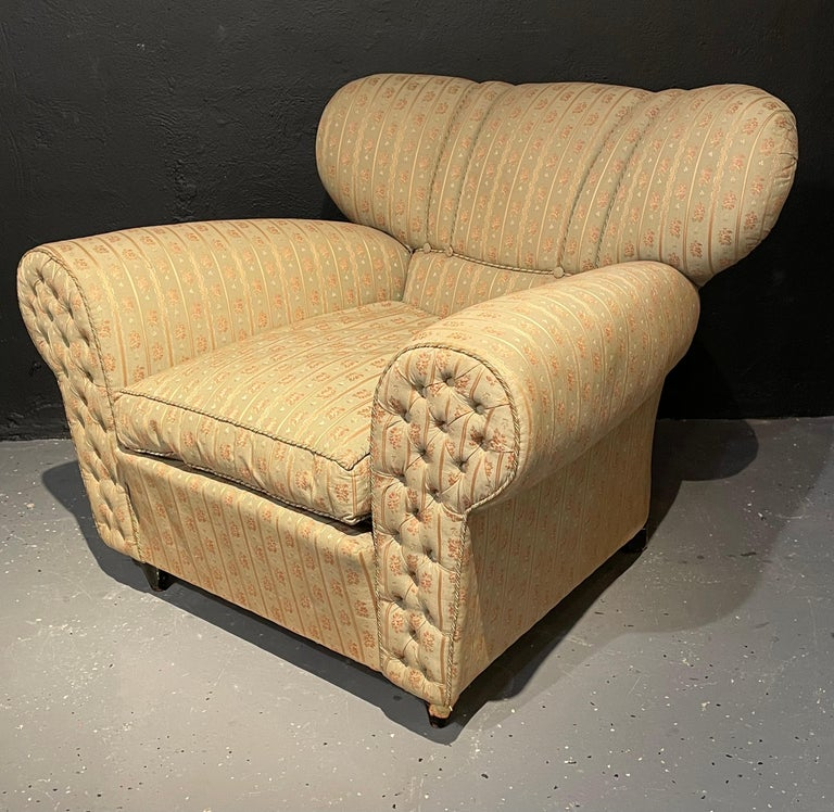 Italian Mid-Century Modern Guglielmo Ulrich Lounge Chairs a Pair For Sale