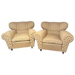 Mid-Century Modern Guglielmo Ulrich Lounge Chairs a Pair