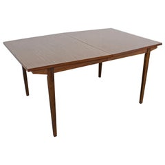 Mid-Century Modern H. Paul Browning Stanley Walnut Surfboard Dining Table