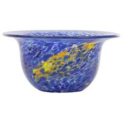 Mid-Century Modern Handblown Glass Cup by Kosta Boda