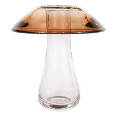 Mid-Century Modern Handblown Murano Mushroom Vase by Antonio Imperatore