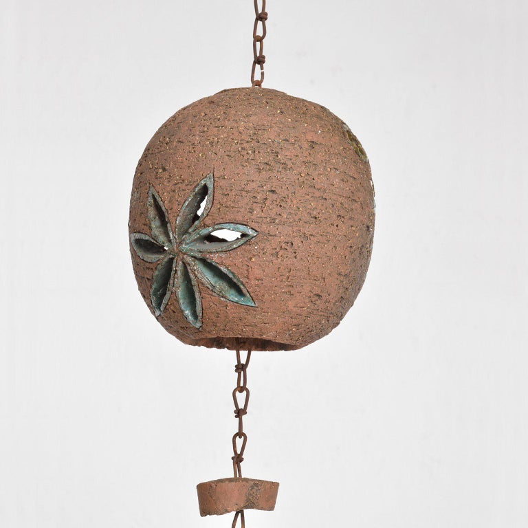 For your consideration a century modern hanging pottery hanging decoration.