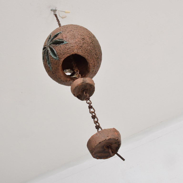 Mid-20th Century Mid-Century Modern Hanging Pottery Hanging Decoration