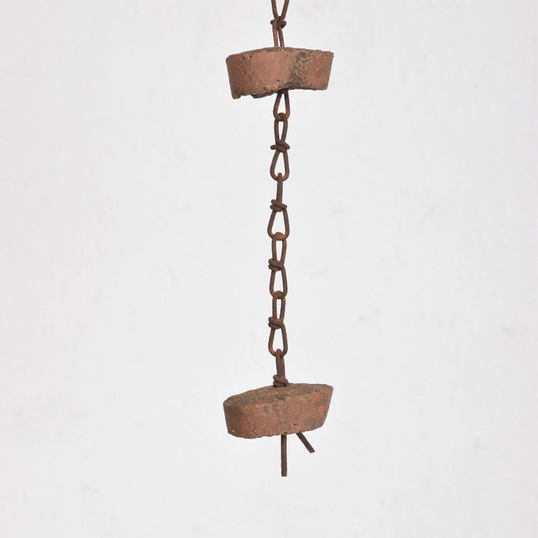 Mid-Century Modern Hanging Pottery Hanging Decoration 1