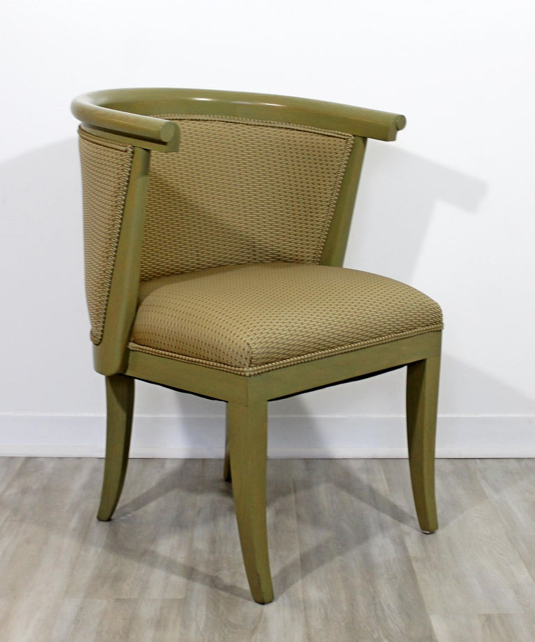 American Mid-Century Modern Harold Schwartz for Romweber Set of 6 Dining Armchairs, 1950s For Sale