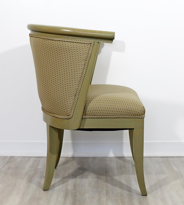 Mid-Century Modern Harold Schwartz for Romweber Set of 6 Dining Armchairs, 1950s In Good Condition For Sale In Keego Harbor, MI