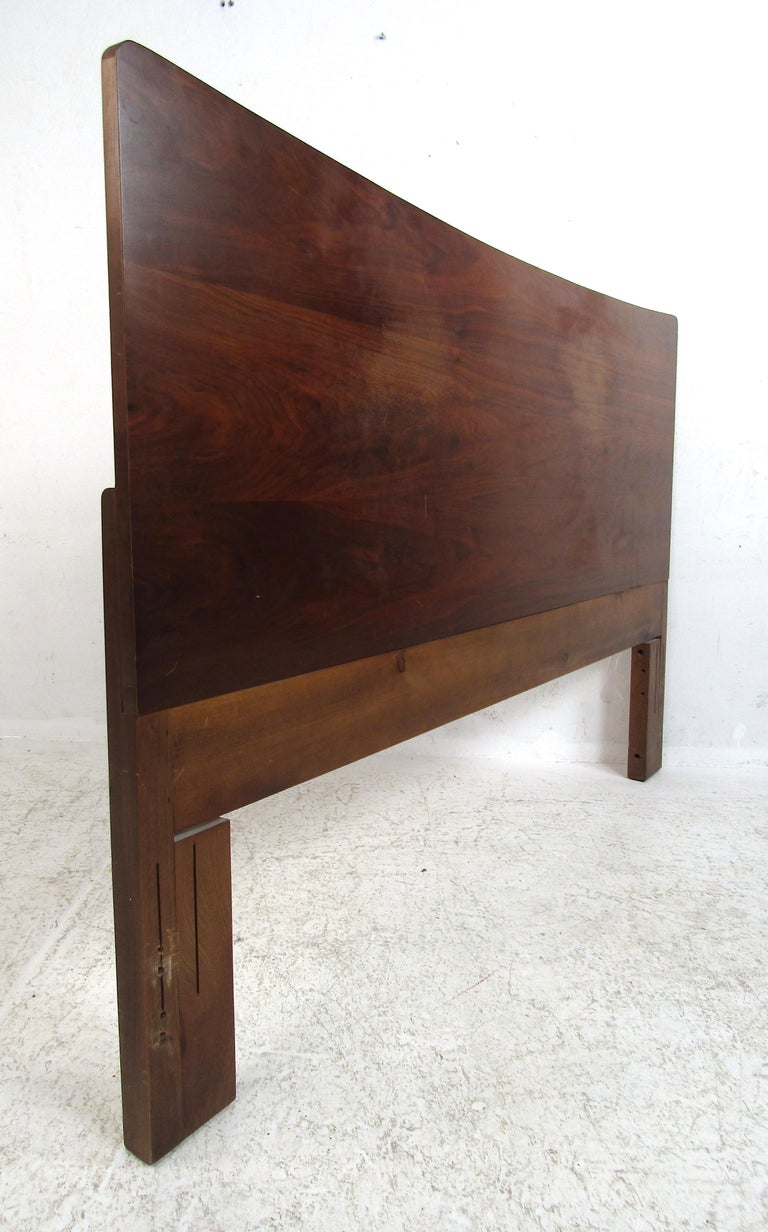 North American Mid-Century Modern Headboard Designed by R Way Manufacturing For Sale
