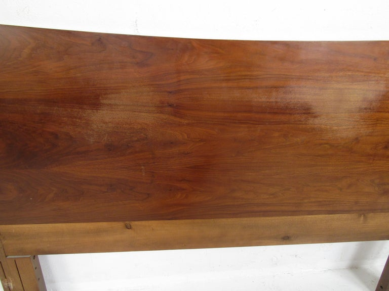 Late 20th Century Mid-Century Modern Headboard Designed by R Way Manufacturing For Sale