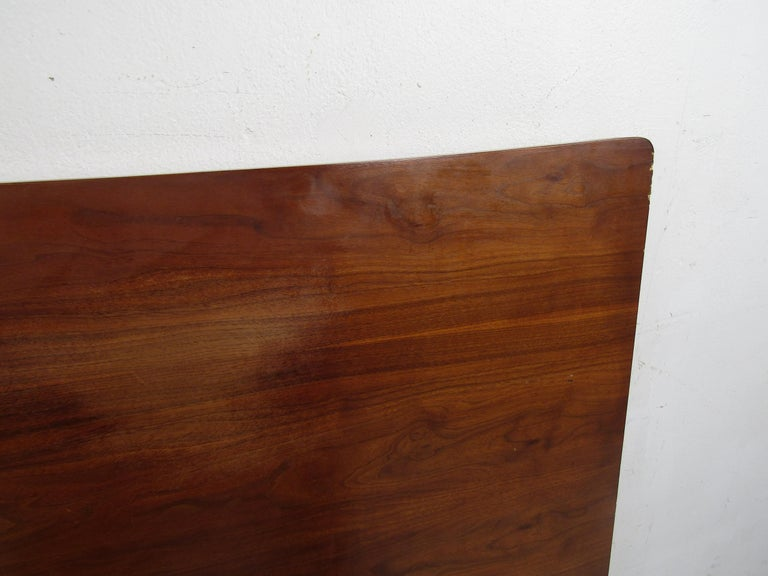 Mid-Century Modern Headboard Designed by R Way Manufacturing For Sale 3