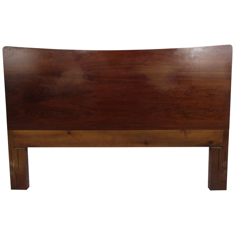 Mid-Century Modern Headboard Designed by R Way Manufacturing For Sale