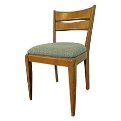 Mid-Century Modern Heywood Wakefield 'Cat's Eye' Champagne Dining Chair M151