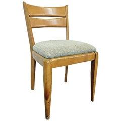 Mid-Century Modern Heywood Wakefield 'Cat's Eye' Champagne Dining Chair M151