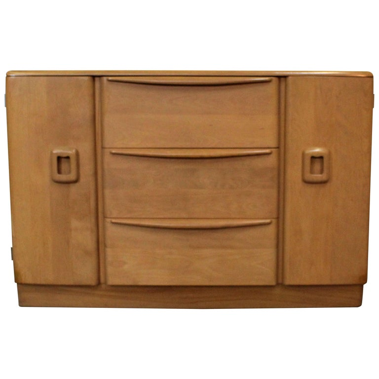 Mid Century Modern Heywood Wakefield Champagne Credenza Buffet M593 At 1stdibs