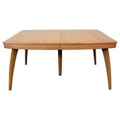 heywood wakefield dining room table | Maple Heywood Wakefield Drop-Leaf Dining Table, 1950s ...