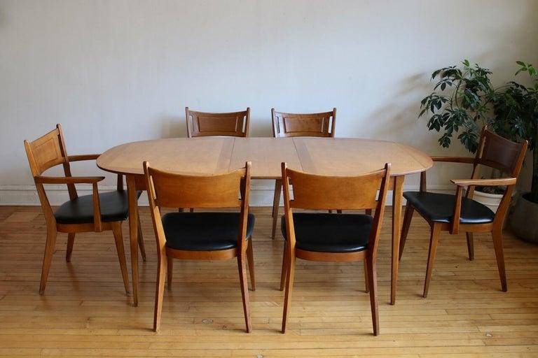 Mid Century Modern Heywood Wakefield Dining Set For Sale