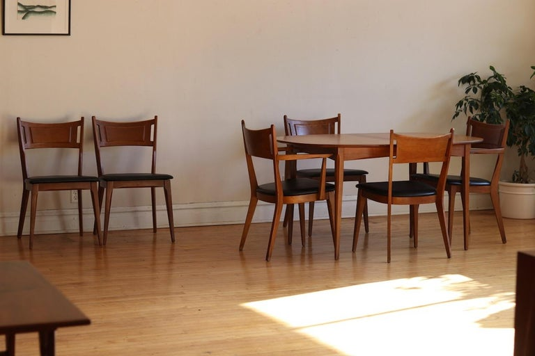 Mid-Century Modern Heywood Wakefield Dining Set For Sale ...