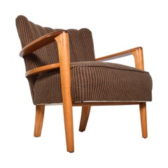 Mid-Century Modern Heywood Wakefield Maple Lounge Chair, 1950s