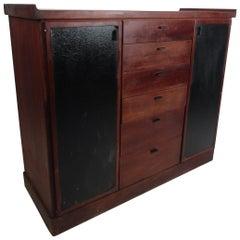 Mid-Century Modern High Dresser
