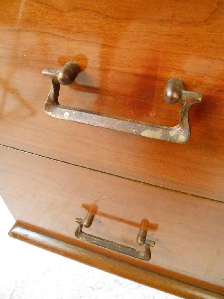 20th Century Mid-Century Modern Highboy Dresser by Mengel Furniture Co. For Sale
