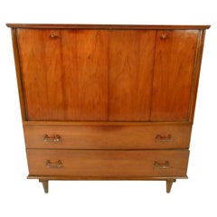 Mid-Century Modern Highboy Dresser by Mengel Furniture Co.